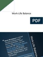 170038457 Work Life Balance