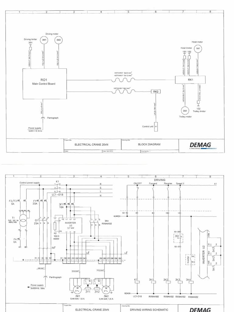 Demag Crane Wiring Schematic