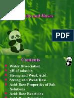 Chapter 6 acid-base