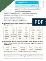 Exercícios Gramaticais IV