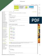 CSS Pseudo Classes