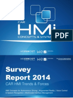 CAR HMi Concepts & Systems 2014 - Survey Report