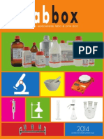 Catalogue Labbox 2014 Représenté Par Medical International