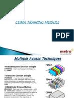 Cdma Training Module