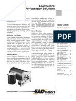 Electrocraft EAD Stepper Catalog
