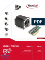 Electrocraft Stepper Catalog
