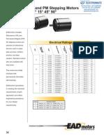 Electroctraft VR PM Stepper Catalog