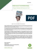 Improving Program Quality in International Development