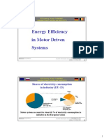 Energy Efficient Drives En