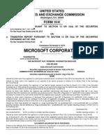 Microsoft Financials