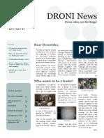 DRONI Newsletter October 2013
