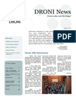 DRONI Newsletter January 2014