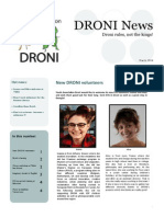 DRONI Newsletter March 2014