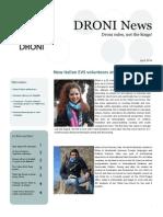 DRONI Newsletter April 2014