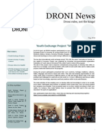 DRONI Newsletter May 2014
