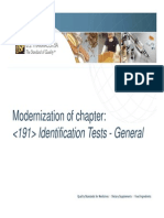 Module 7 General Chapter 191 Update