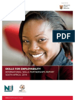 International Skills Partnerships Report (SA, 2014)