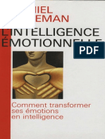 L'Intelligence Émotionnelle - Daniel Goleman (1995)