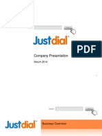 Justdial Company Presentation