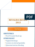 Obgyn Revalida Review 2013 for Printing