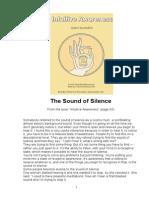 Buddhist Sound of Silence
