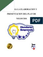 Guia Para La Elaboracion y Presentacion Plan de Negocios