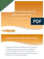 Qué Es El Desarrollo de Aplicaciones Web