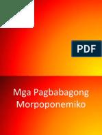 pagbabagong morpoponemiko