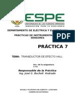 Práctica Efecto Hall Marzo - Agosto 2014