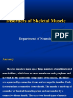 disorders of skeletal muscle