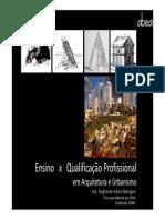 Ensino x Qualificaçao - Out2012