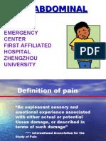 abdomen pain