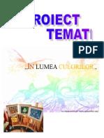 Proiect Tematic Culori Grădiniță