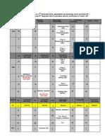 Time Table 2014 Pracs Third Quarter 3(1)