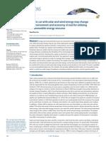 Earth's Future EV Wind Solar