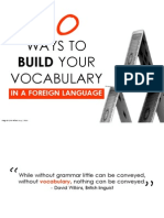 How to Build Your Vocabulary