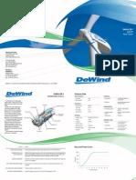 DeWind Brochure D8 2 Eng