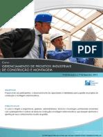 Gerenciamento de Projetos Industriais de Construção e Montagem