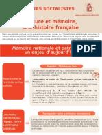 Culture et mémoire, une histoire française