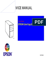 Epson Color Copy Station 8200 Service Manual