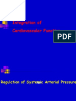 Regulation of Systemic Arterial Pressure