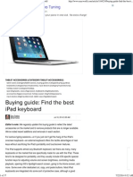 Buying Guide_ Find the Best iPad Keyboard _ Macworld