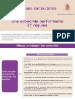 Une économie performante et régulée