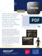 Case Study IRON by Irontown Interactive