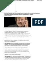 Peter Sloterdijk über Zukunft