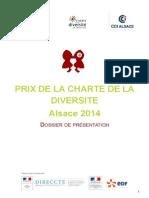 Dossier de Présentation Prix Diversité 2014 Alsace