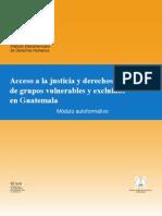 Acceso a La Justicia Guatemala Derechos Humanos