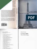 Barthes 1967 La Torre Eiffel