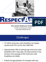 RespectAbility Jackie Robinson Strategy PPT 7.22