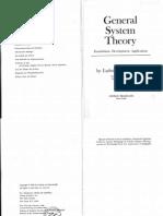 Ludwig Von Bertalanffy - General System Theory 1968